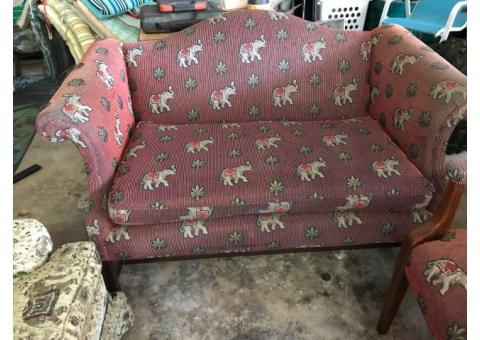 Sofa and love seat and chairs